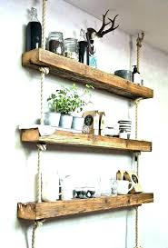 rustic wall shelf rustic floating wall shelves floating wall shelves wood metal floating shelf medium size