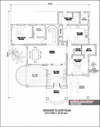 kerala house design model house plan
