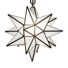 quintana roo moravian star 19 in bronze electrical single star pendant