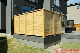 calgary deck and fence gallery pertaining to privacy walls on decks plans 16