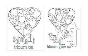 Thank You Coloring Sheets Card Coloring Pages Easy Thank You Card