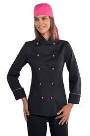 Veste Cuisine Femme Tissu Ultra Leger Vestes De Cuisine Femme