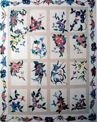 Applique Flower Quilts &  Adamdwight.com