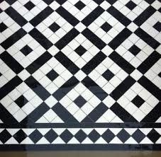 black and white diamond tile floor. Black And White Path Tiles Showing Our Banded Boxes Design With Diamond Border Tile Floor
