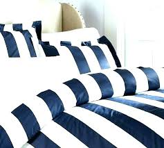navy and white striped quilt bedding black classic stripe thread count duvet cover sham a blue navy and white striped quilt