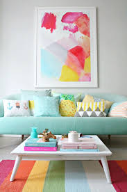 colorful living rooms. Fragment Painting Limited Edition Art Print By Hooray Creative Colourful Living Best Room Ideas On Pinterest Colorful Rooms U