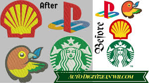 How To Digitize Embroidery Designs Auto Digitize Any Image In To Embroidery File Embroidery Digitizing