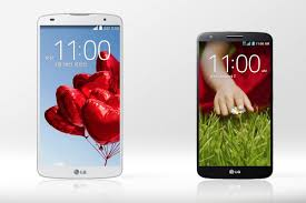 LG G Pro 2 vs. LG G2