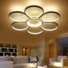 modern lamps for living room. surface mounted ceiling lights led light living room modern lamp fixture lighting indoor bedroom eclairage lamps for .