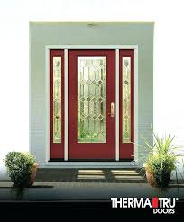 showy best fiberglass entry doors paint front door smooth star and painted rave red are ready paint fiberglass door appealing exterior doors with best