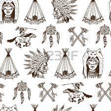 Cherokee Indian Dream Catcher Indian Or Native American Horseback Arrows And Buffalo Skull 20