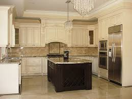classic kitchen design. Classic Kitchen With Top Mount And Ceiling Crown Molding Design I