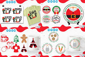 Browse our christmas images, graphics, and designs from +79.322 free vectors graphics. Christmas Mini Bundle Vol 2 Graphic By Cute Files Creative Fabrica Christmas Minis Christmas Projects Monogram Frame