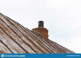 Pipe Chimney Design Metal Roof The Paint Almost Disappeared On Her Chimney