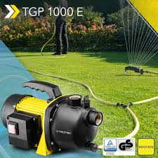 Noutate Pompa De Grădină Tgp 1000 E Cu Un Debit De Până La 3300