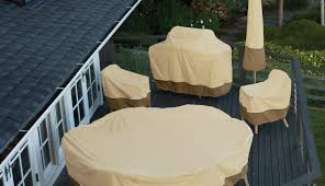 large furniture table covers inch vinyl tablecloths gardman beige round patio set outside grey cover medium