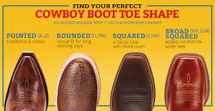 How To Find The Perfect Toe Shape For Your Cowboy Boots