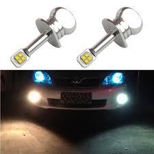 3 75 Fog Lights Us 23 99 2x New 40w Cree Chip Xbd 390lm 12v 24v H1 Led Fog Light Bulbs H1 Auto Car Day Time Running Lamps Driving Bulb 6000k White In Car Headlight