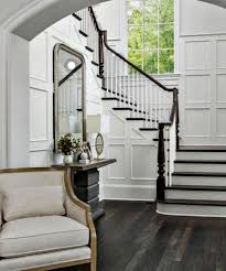 two story foyer from drab to pretty