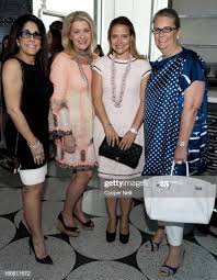 Sue Gragg, Suzanne McClure, Elisa Summers and Georgina Hartland pose...  News Photo - Getty Images