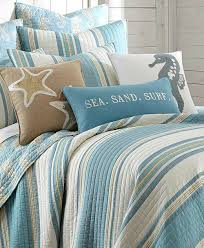 Blue Beach Striped Bedding Quilt Set... :// ... & Blue Beach Striped Bedding Quilt Set...  http://www.beachblissdesigns.com/2016/10/blue-beach-striped-bedding-quilt-set.html  | Pinterest | Beach, Bedrooms and ... Adamdwight.com