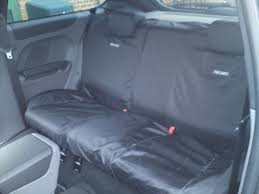 recaro logo rear seat cover ford focus st