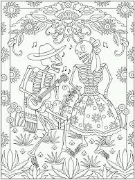 Small Picture Dia De Los Muertos Couple Coloring Pages Other Free Printable