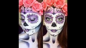 clic sugar skull makeup tutorial 2016