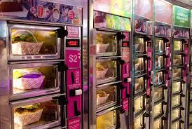 Vending Machine Restaurant Nyc Enchanting Bamn East Village New York Magazine Restaurant Guide
