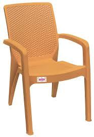 orange plastic chair. 4180 - Amber Gold Orange Plastic Chair