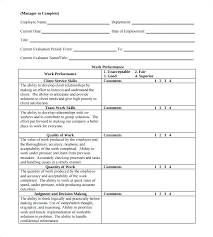 Annual Review Forms For Employees Hr Templates Hr Forms Employee Performance Review Template