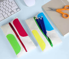 back to school homemade pencil pouch