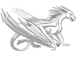 Small Picture Wings Of Fire Coloring Pages zimeonme