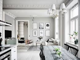 decoration apartment. Home Decor, Swedish Style Apartment Inspiring White Decoration Living Room: Awesome S