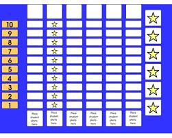 Class Star Chart