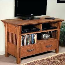Mission Style Corner Tv Stand Craftsman Style Stand Farm Style Stand ...