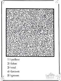Color By Number Printable Pages Free Number Coloring Pages Color By