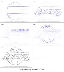 We have 14 free lakers vector logos, logo templates and icons. How To Draw Los Angeles Lakers Logo Printable Step By Step Drawing Sheet Drawingtutorials101 Com