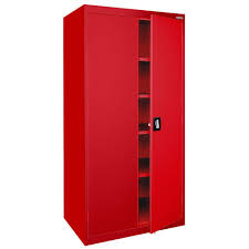 18 Storage Cabinet Sandusky Elite Series 72 In H X 36 In W X 18 D 5 Shelf Steel