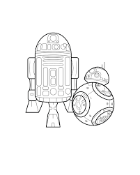Small Picture Bb8 r2d2 by allan Allan Coloring pages for adults JustColor
