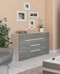 ... Sideboard Wohnzimmer Kommode 142cm Sibirische Lärche / Eiche Liore ...