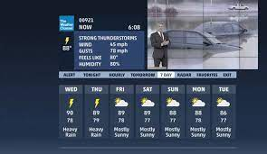 Interactive Weather App on DISH ...
