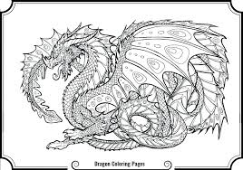 Cute Cartoon Dragon Coloring Pages Printable Realistic Together With