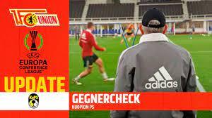 Samalla kups suorittaa toisen vaihtonsa. Froh Uber Jede Unterstutzung Vorbericht Kuopion Ps Uefa Conference League 1 Fc Union Berlin Youtube