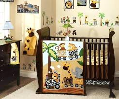 no jo baby bedding jungle babies bedding jungle babies 6 piece crib bedding set nojo crib