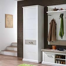 Pharao24 Design Barschrank In Weiß Eiche 75 Cm Breit Küche
