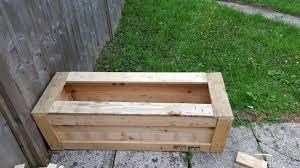 large planter box for plants vegetables