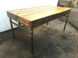 diy pallet iron pipe. Pallet Wood Desk Pipe And This With Iron Base Has Just . Diy