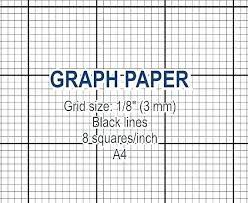 Free Grid Paper Square Template 1 Inch Graph Idea 1 Inch Grid Paper