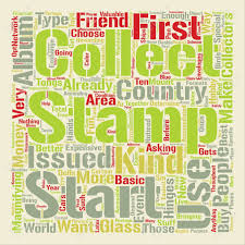 Album Word Bws Your First Stamp Album Text Background Word Cloud Concept